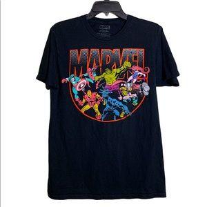 Marvel Comics Vintage look Tee sz M